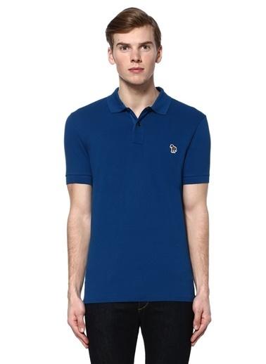 PS by Paul Smith Polo Yaka Tişört Mavi